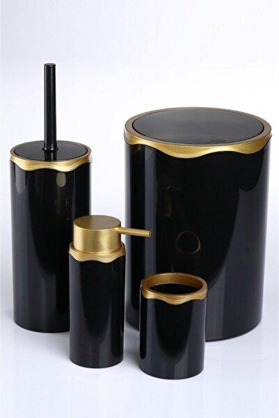 Azra Banyo Seti Siyah Gold