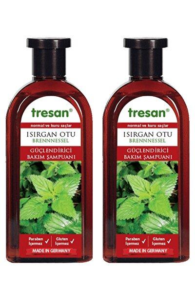 Tresan Normal Ve Kuru Saçlar Için  Isırgan Otu Bakım Şampuanı 300 ml X 2 Adet