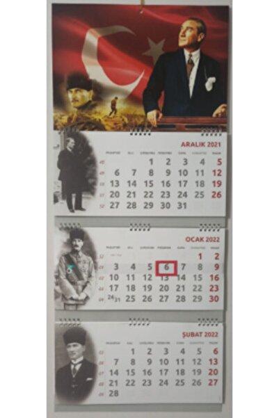 SOYLU 2022 Gemici Duvar Takvimi Atatürk