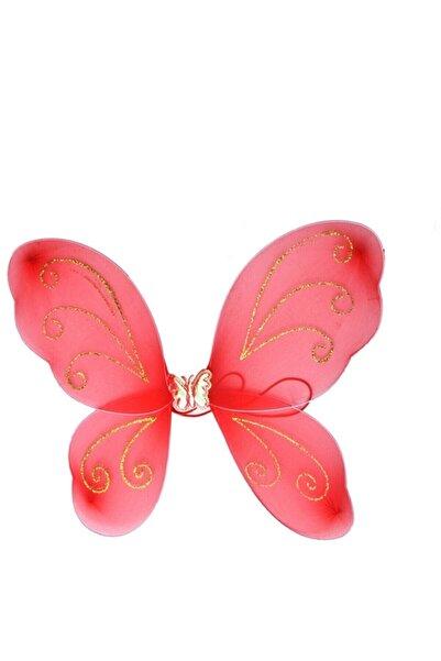 Skygo Kırmızı Kelebek Kanadı