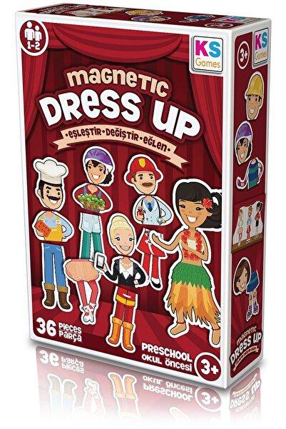 Ks Puzzle Marka: Md174 Ks, Magnetic Dress Up - Eşleştir?değiştir?eğlen / +3 Yaş Kategori: Bebek & A