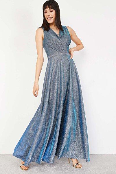 Lafaba Kadın Lacivert Abiye Elbise