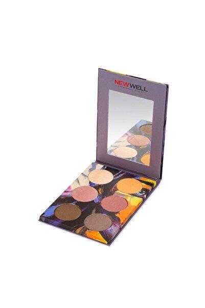 New Well Autumn Eyeshadow Palette - 03