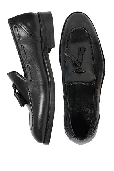 W Collection Erkek Siyah Klasik Ayakkabı .v57 .41