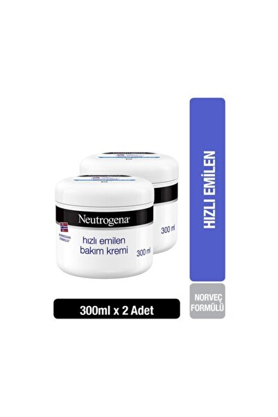 Neutrogena Norveç Formülü Hızlı Emilen Bakım Kremi 300 Mlx 2 Adet