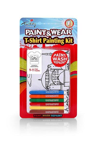 paint-wear Ayasofya Boyama T-shirt 9-11 Yaş