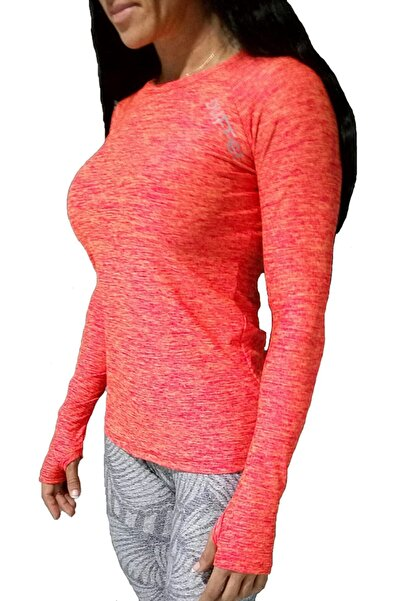 Duffel Kadın Turuncu Spor T-Shirt