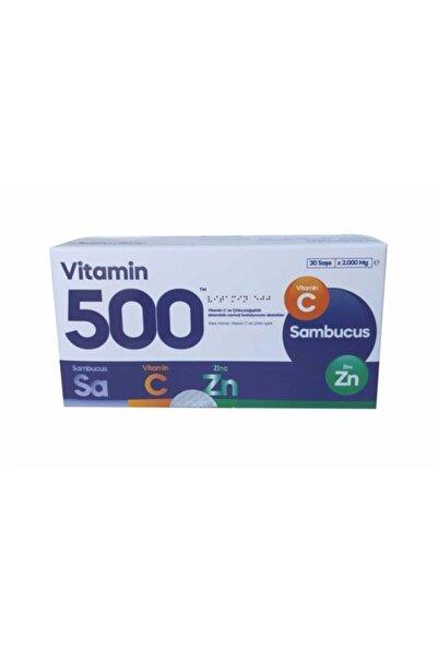 Fabrika Vitamin 500 Vitamin C Sambucus Çinko 30 Saşe