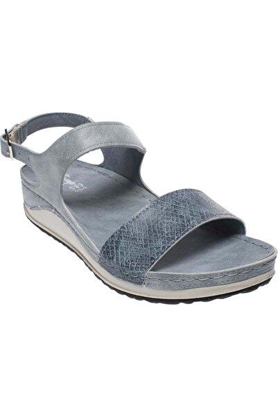 Jump Kadın Mavi Ortopedik Sandalet