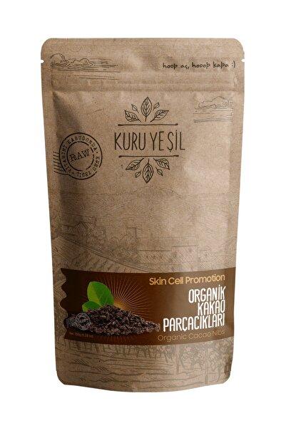 Kuru Yeşil Organik Ham Kakao Parçacığı 150 Gr