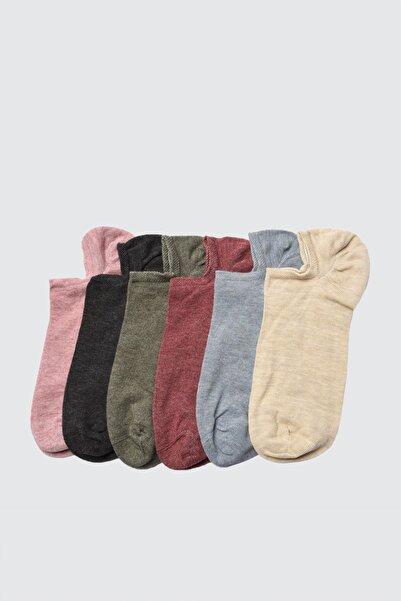 TRENDYOLMİLLA Çok Renkli 6'lı Paket Örme Çorap TWOAW21CO0033