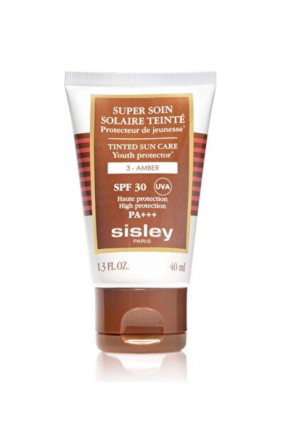 Sisley Super Soin Soliare Teinté Spf30 Pa+++ Uva 3- Amber -yeni Güneş Kremi