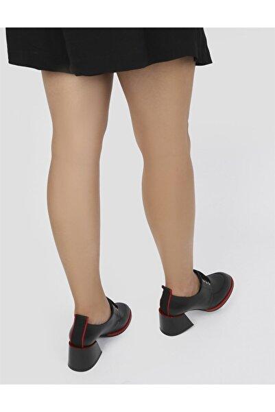 İLVİ Kadın Siyah Topuklu Ayakkabı