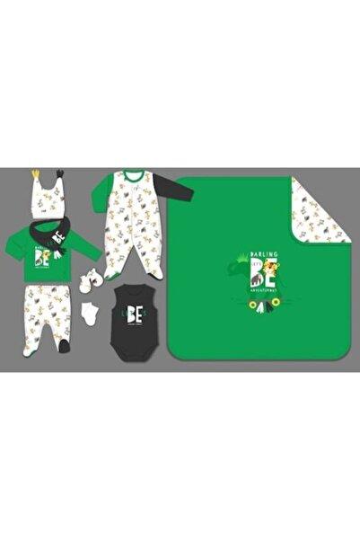 İmaj 1-048 Safari Erkek Tulumlu 10lu Set Yeşil
