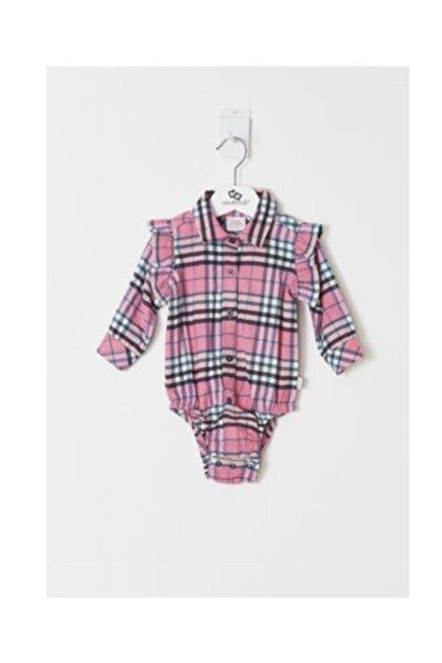 Wonder Kıds Kız Bebek Pembe Gömlek