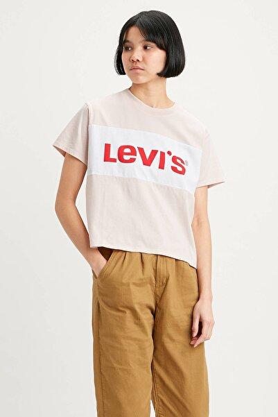 Levi's Kadın Pembe Baskılı T-Shirt 18890-0001