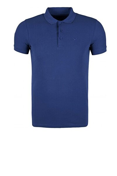 Cazador Erkek Lacivert  Polo Yaka T-shirt 4613