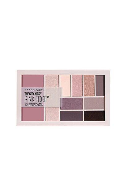 Maybelline New York Göz Vv Ten Paleti - The City Kits Pallette Pink Edge