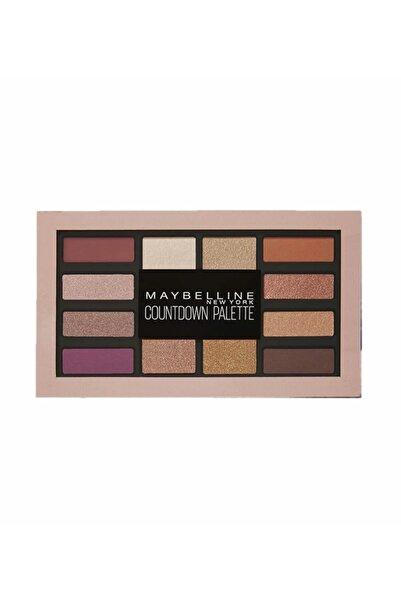 Maybelline New York Göz Farı Paleti - Countdown Palette 01 Holiday