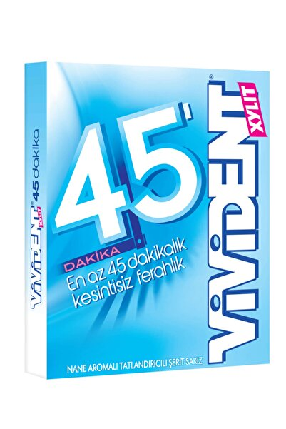 Vivident Storming 45 Dakika Nane Aromalı Sakız 33g