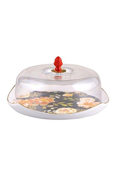 BİEV  Trk1426 Çiçekli Kek Fanusu