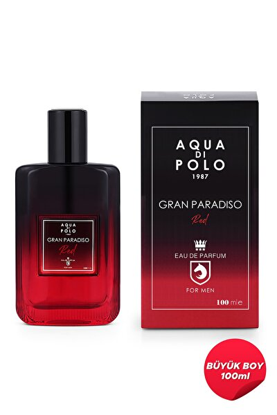 Aqua Di Polo 1987 Gran Paradiso Red Edp 100 ml Erkek Parfümü  Apcn001803