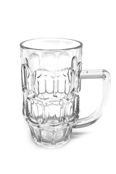 DMD FABRİKA Polikarbon Kırılmaz Kulplu Meşrubat Bardağı 6'lı 560 cc