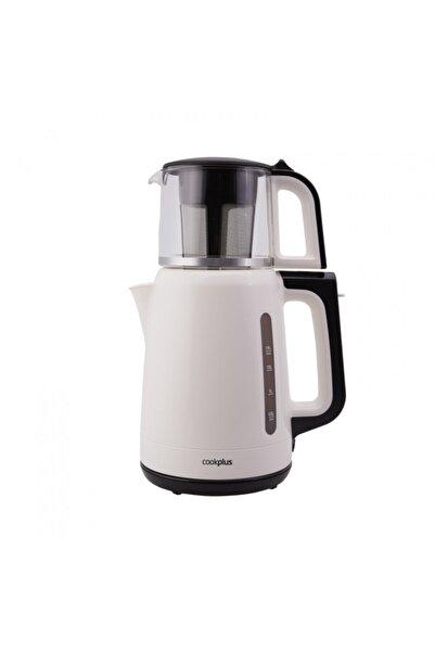 Cookplus Yeni 1501 Enerji Tasarruflu Kettle Çay Makinesi Krem