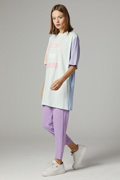 Loreen Kadın Mint Yeşil Tshirt 30489-24