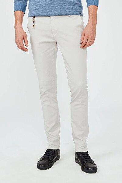 Avva Erkek Taş Yandan Cepli Armürlü Slim Fit Pantolon A02Y3071