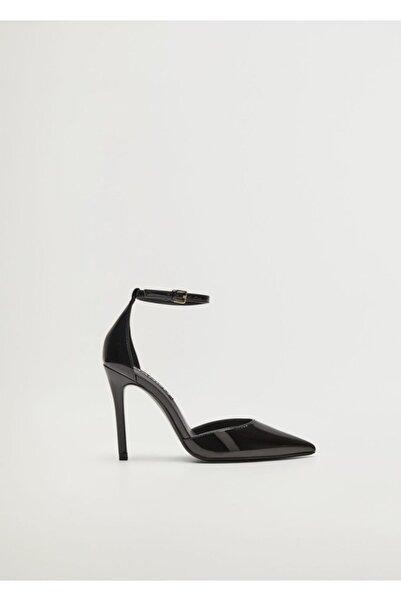 MANGO Woman Kadın Siyah Topuklu Ayakkabı