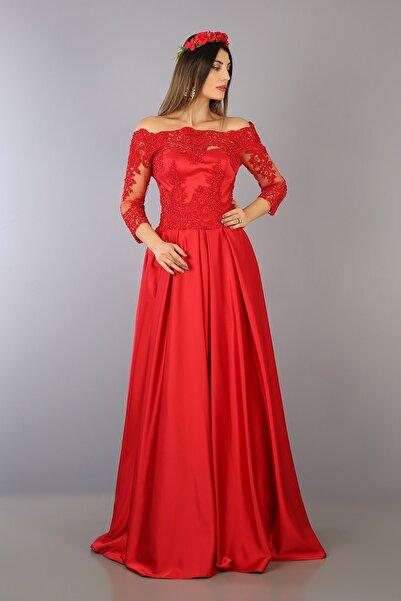 VOLAN Kadın Abiye Kına Elbisesi