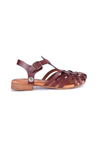 Mammamia Kadın Kahverengi Sandalet
