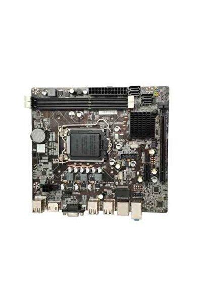 TURBOX H61c Hdmı+vga+ses 6xusb2.0 1155p Anakart