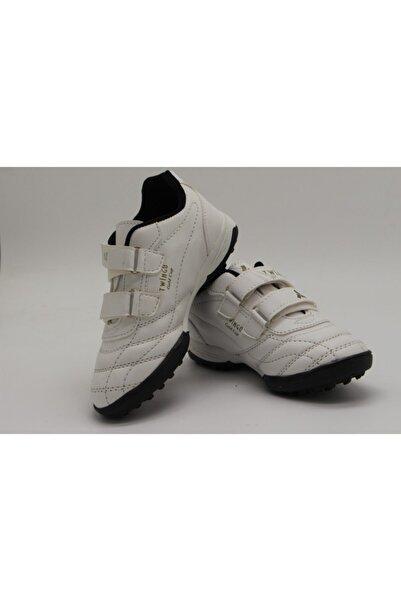 Twingo Erkek Çocuk Beyaz Futbol Ayakkabı 134-f