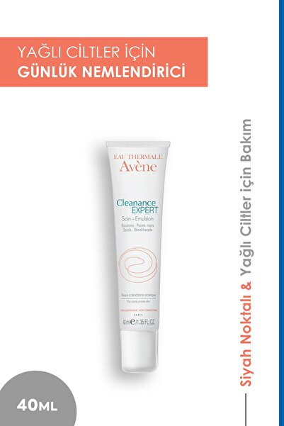 Avene Cleanance Expert Emulsion - Akneli Ciltler Için Bakım Kremi 40ml