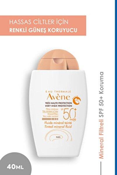 Fluide Mineral Güneş Koruyucu Renkli Krem Spf50 40 ml