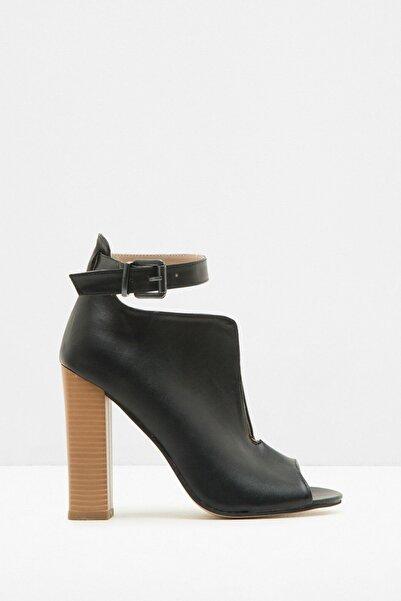 Koton Kadın Siyah Casual Ayakkabı 7KAK20670AA