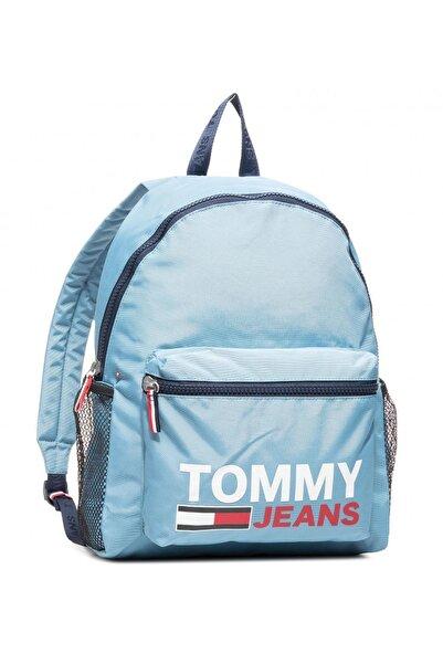 Tommy Hilfiger Erkek Mavi Campus Boy Graphic Sırt Çantası Am0am06755