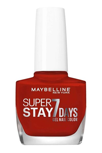 Maybelline New York Super Stay Oje- 06 Deep Red 3600530120840