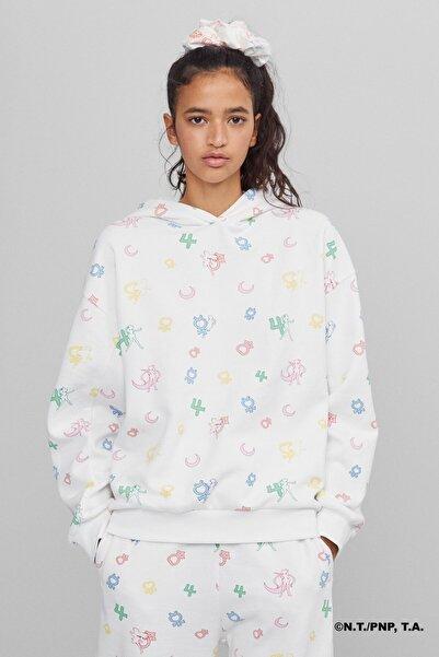 Bershka Sailor Moon Desenli Sweatshirt