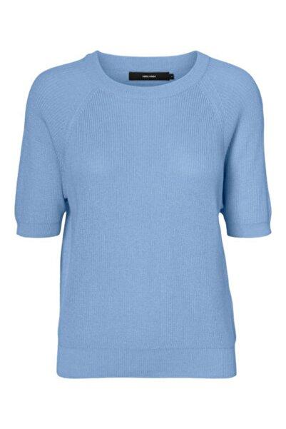 Vero Moda Kadın Mavi Bluz
