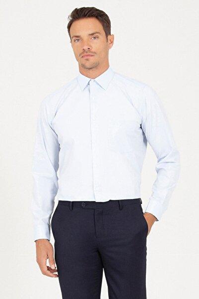 Hatemoğlu Klasik Buz Mavisi Gömlek
