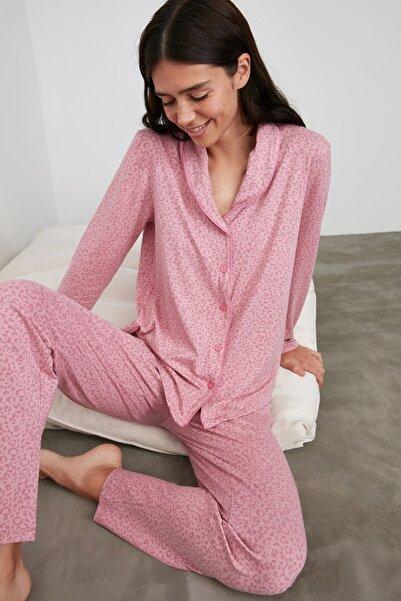 TRENDYOLMİLLA Lila Örme Pijama Takımı THMAW21PT0616