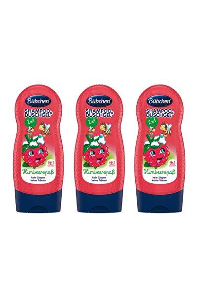 Bübchen Frambuazlı Çocuk Şampuanı Ve Duş Jeli 230 Ml X 3 Adet