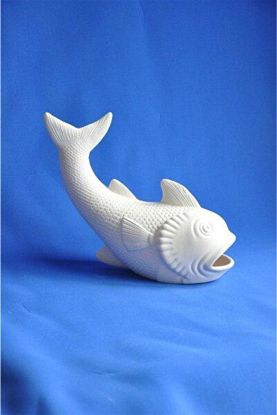 Güner Seramik Büyük Balık Biblo