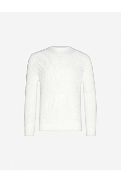 SANDRO Leron Crewneck Cotton-knit Jumper