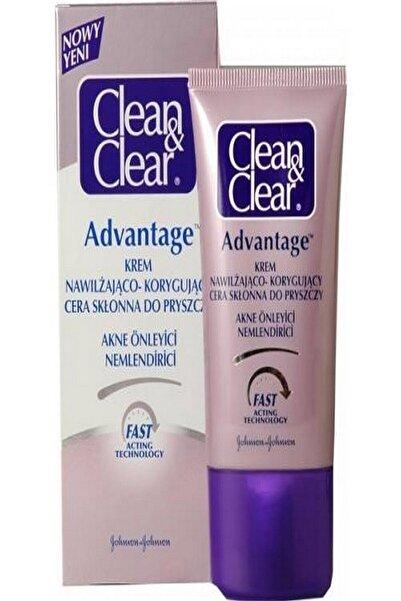 Clean & Clear Clean Clear Advantage Problemli Ciltler Için Yüz Nemlendirici