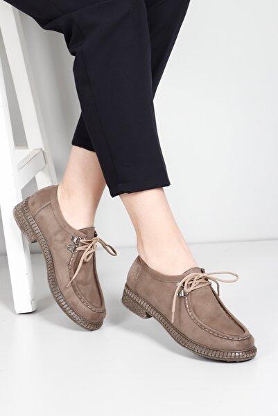 G.Ö.N Kadın Kahverengi Günlük Ayakkabı 38411