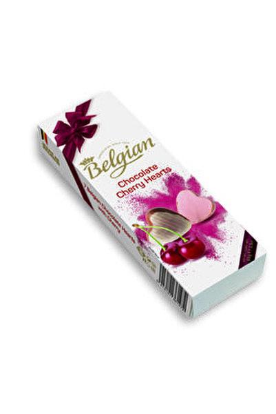 Kirazlı Kalp Şekilli Pralin Çikolata 65g